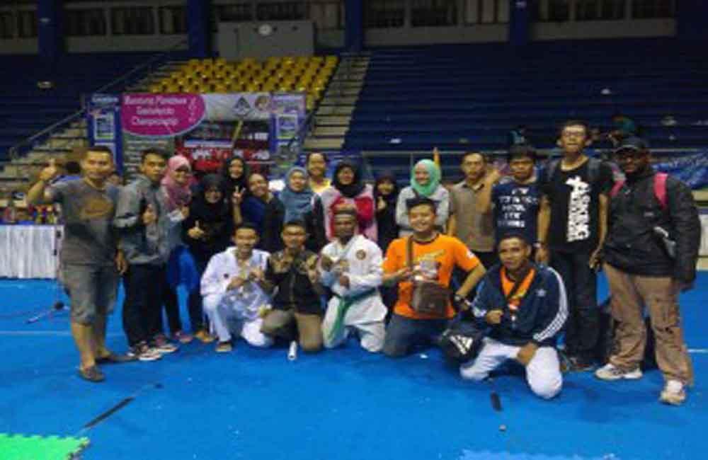 Raih 6 Medali Emas Team Taekwondo Indonesia Manidiri